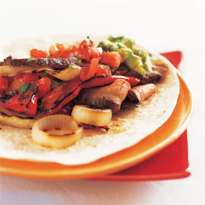Charcoal-Grilled Beef Fajitas
