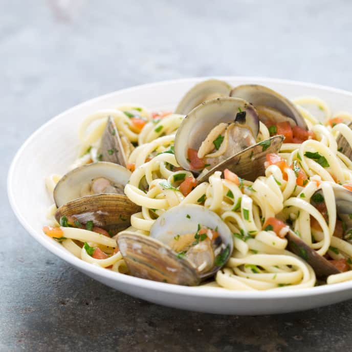 Pasta with Fresh Clam Sauce