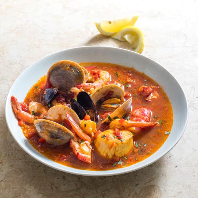 Spanish Shellfish Stew (Zarzuela)