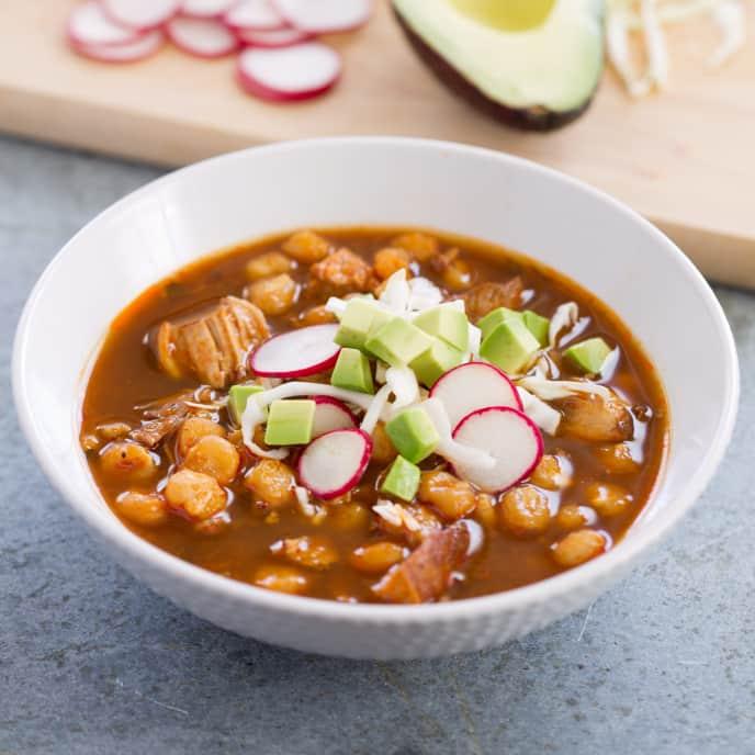 New Mexican Pork Stew (Posole)