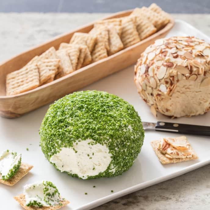 Lemon-Herb Goat Cheese Ball