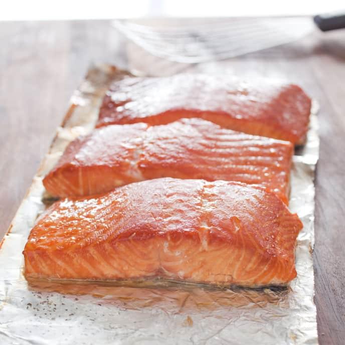 Grill-Smoked Salmon
