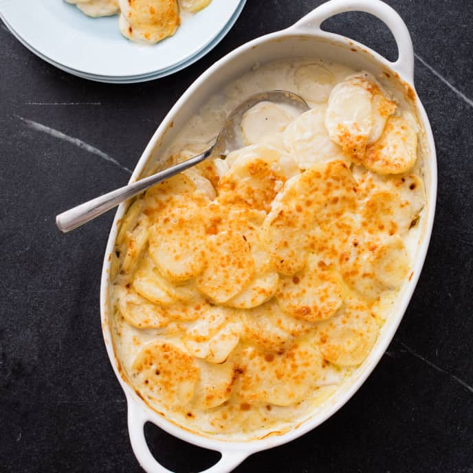 Holiday Scalloped Potatoes
