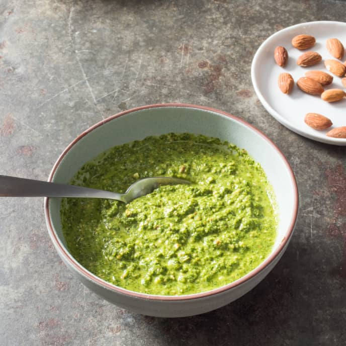 Arugula and Almond Pesto