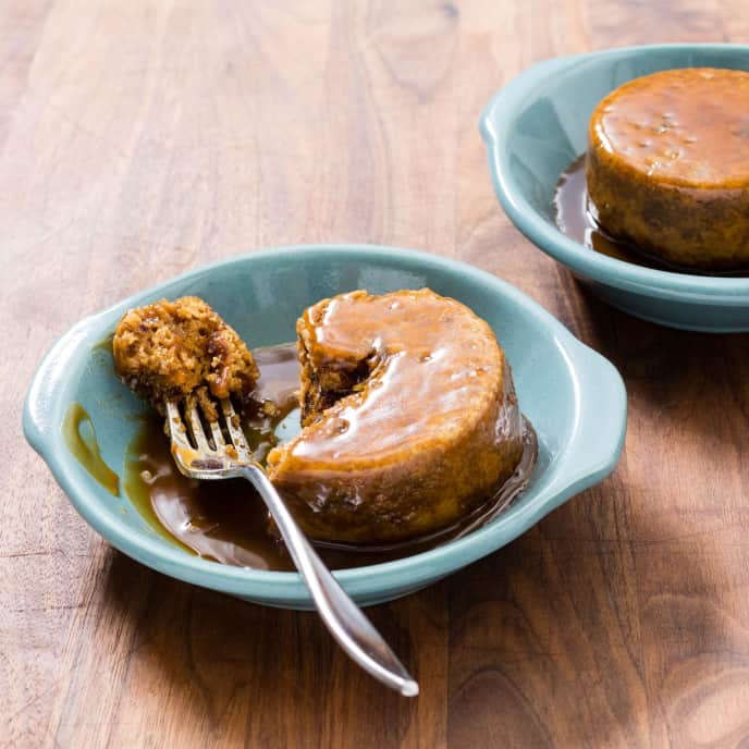 Individual Sticky Toffee Pudding Cakes