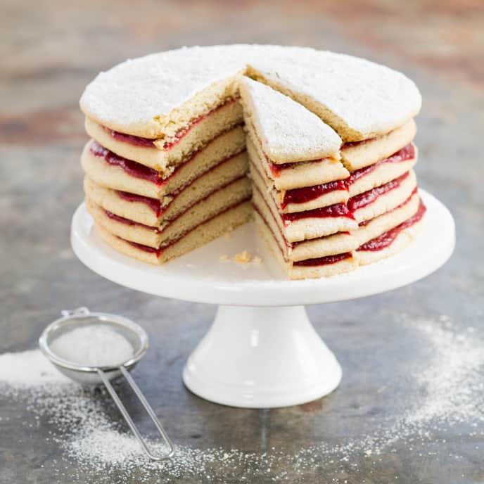 Strawberry Stack Cake