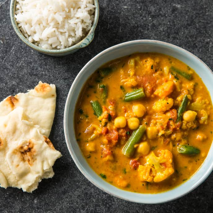 Multicooker Indian Vegetable Curry