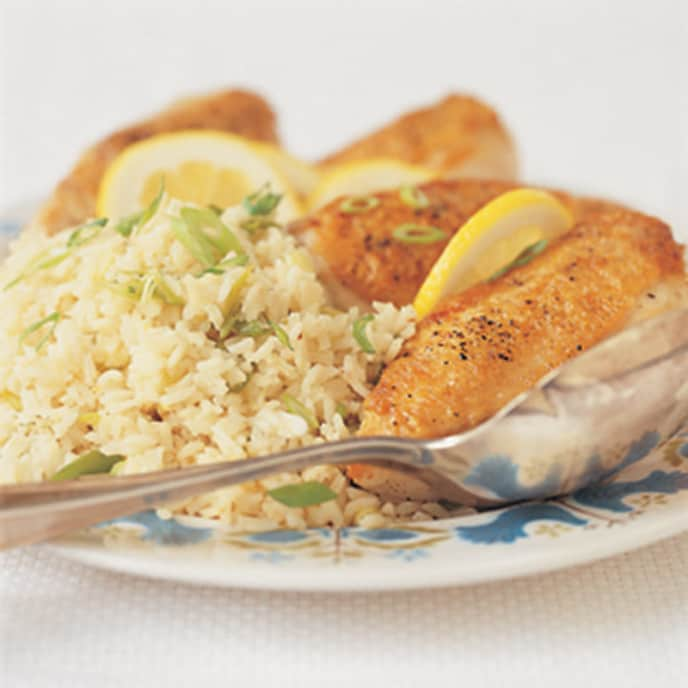 Lemony Chicken and Rice