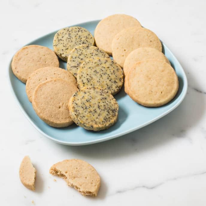 Walnut-Brown Sugar Slice-and-Bake Cookies