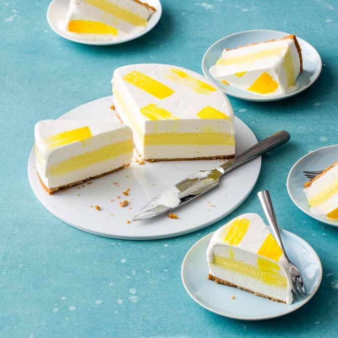 Frozen Lemonade Cake