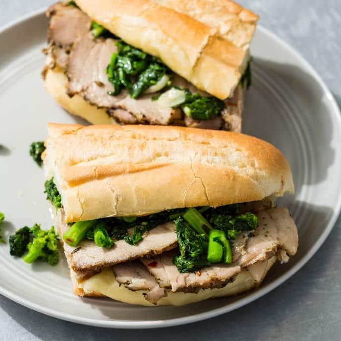 Philadelphia Pork Sandwiches