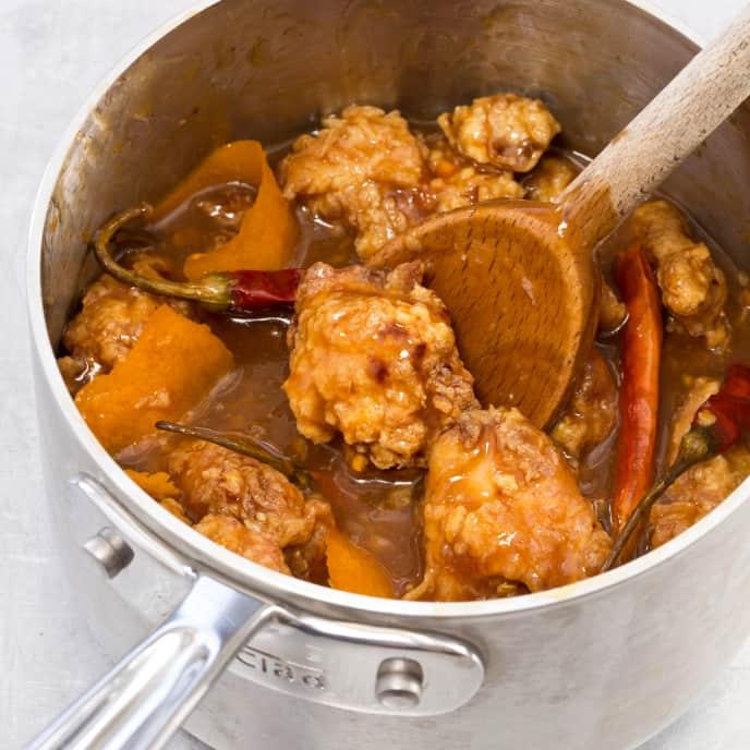Orange-Flavored Chicken