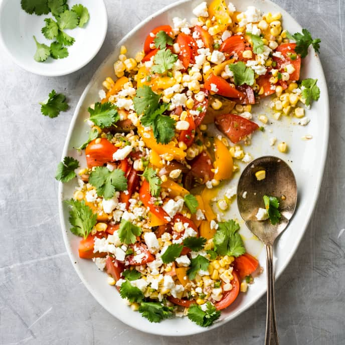 Southwestern Tomato and Corn Salad