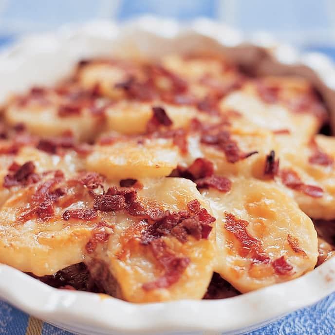 Alsatian Potato Casserole