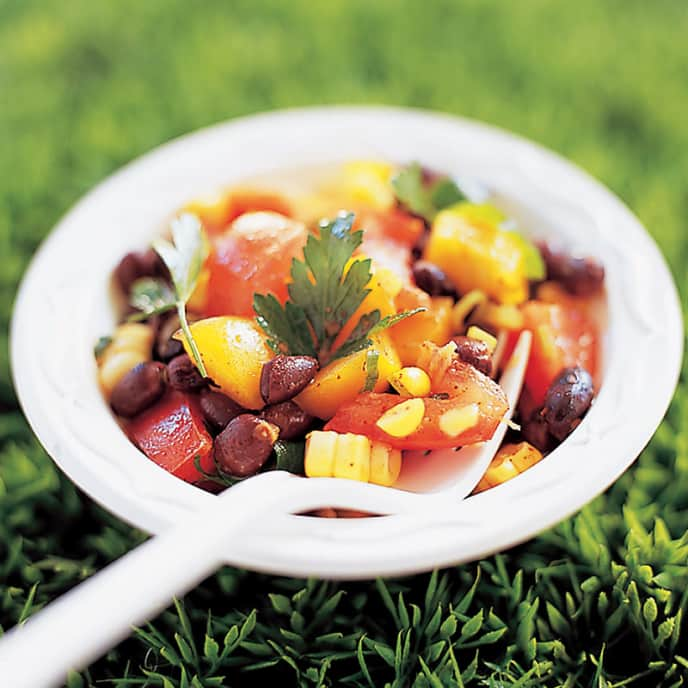 Tricolor Mexican Bean Salad