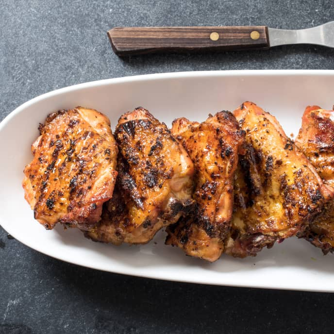 Best Grilled Chicken Thighs with Garam Masala