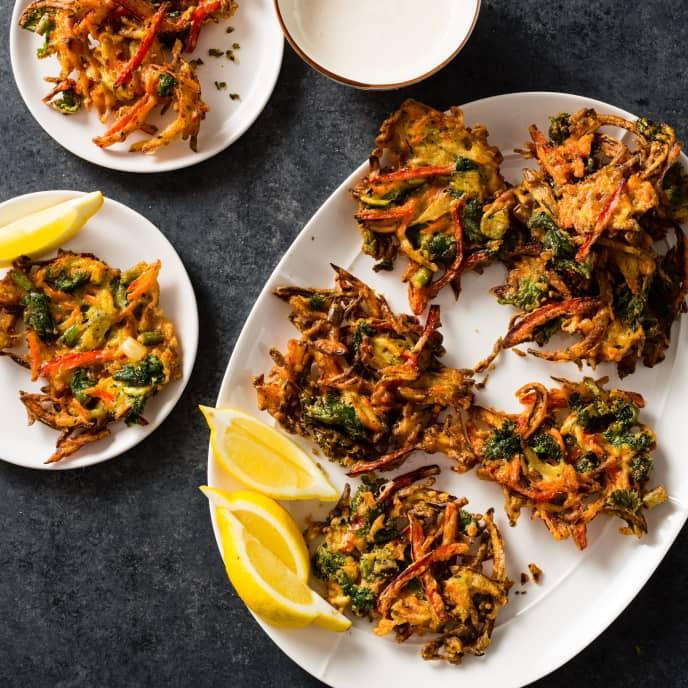 Crispy Vegetable Fritters