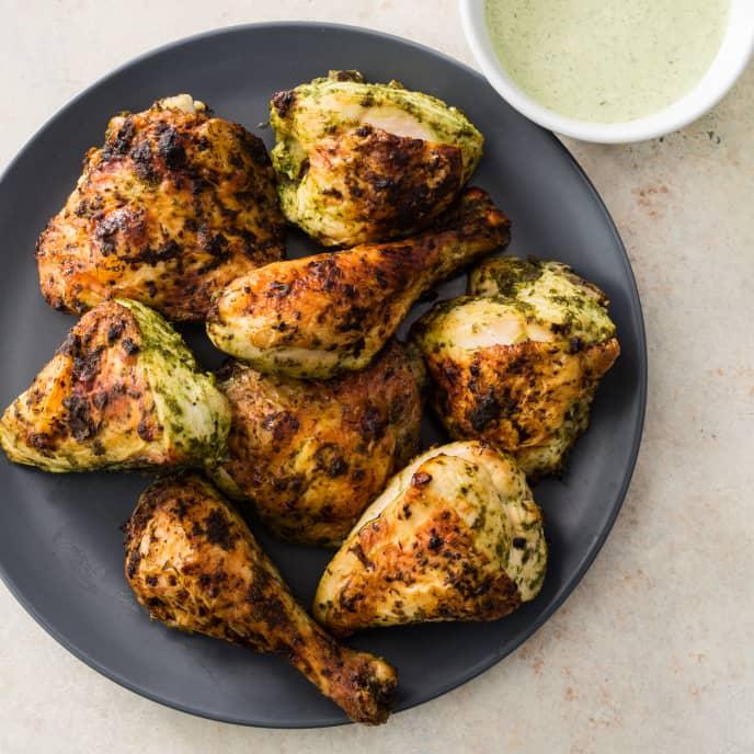 Green Goddess Roast Chicken