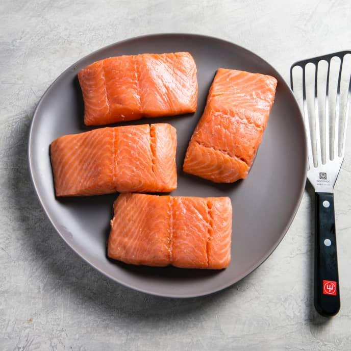 Sous Vide Poached Salmon