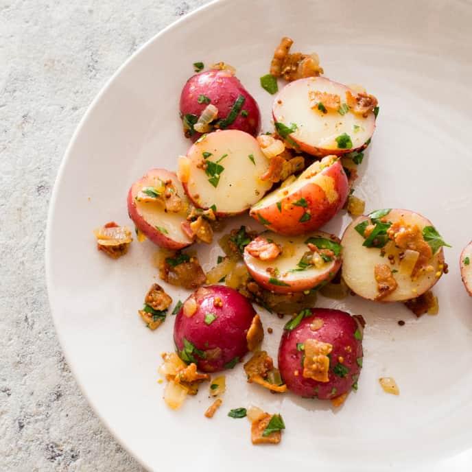 Sous Vide German Potato Salad