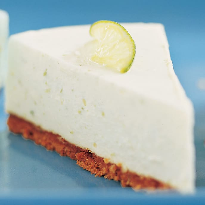 Key Lime Icebox Cheesecake