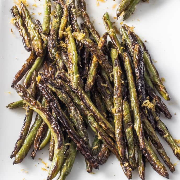 Skillet-Charred Green Beans