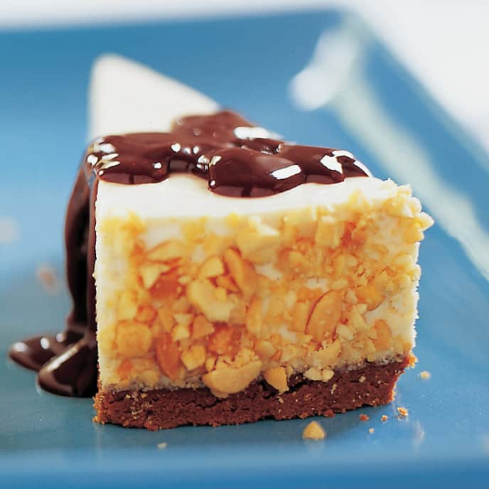 Peanut Butter Icebox Cheesecake