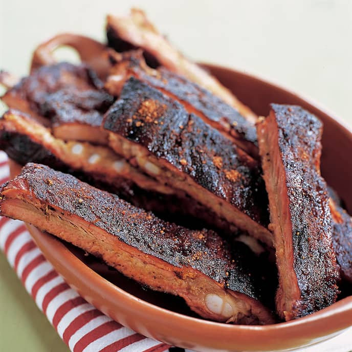 Memphis BBQ Spareribs for a Gas Grill