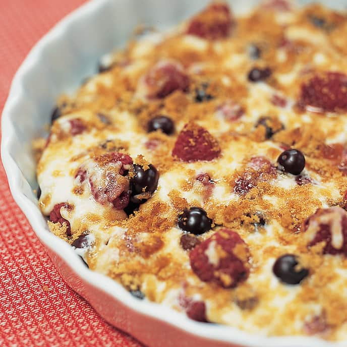 Summer Berry Bake