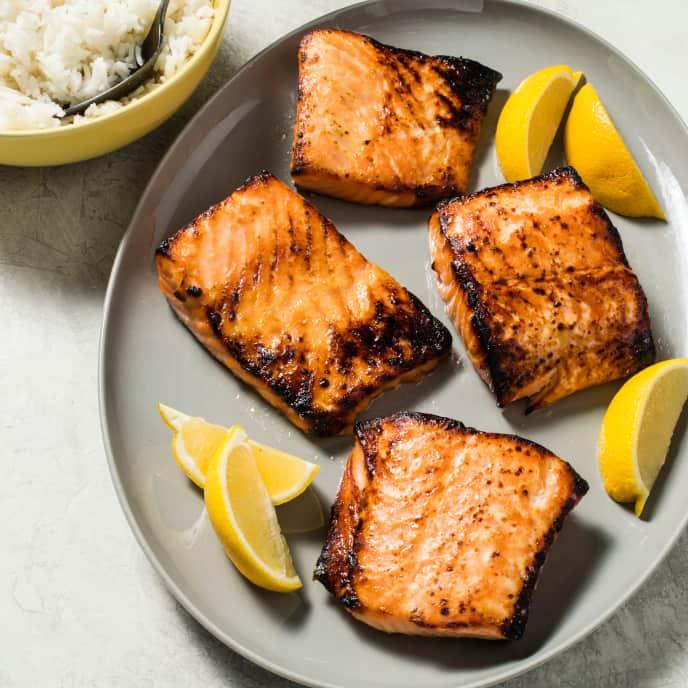 Sous Vide Miso-Marinated Salmon