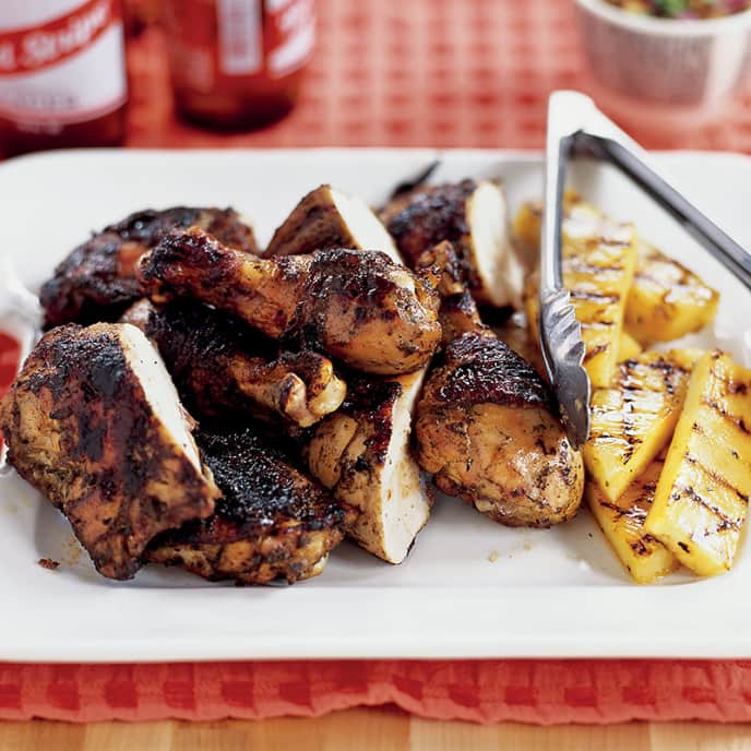 Sweet 'N' Smoky Jerk Chicken