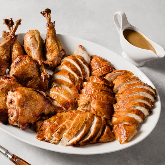Turkey and Gravy for a Crowd