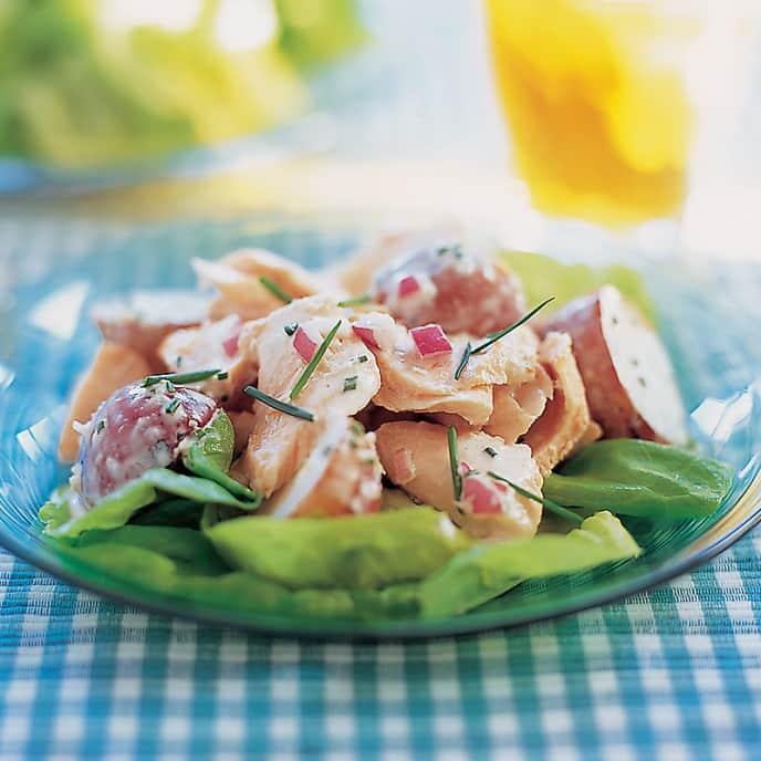 Zesty Salmon and Potato Salad
