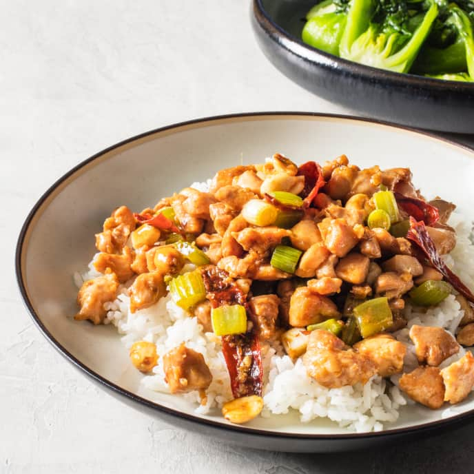Kung Pao Chicken for Two