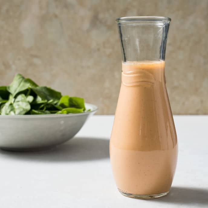 Creamless Creamy Russian Dressing