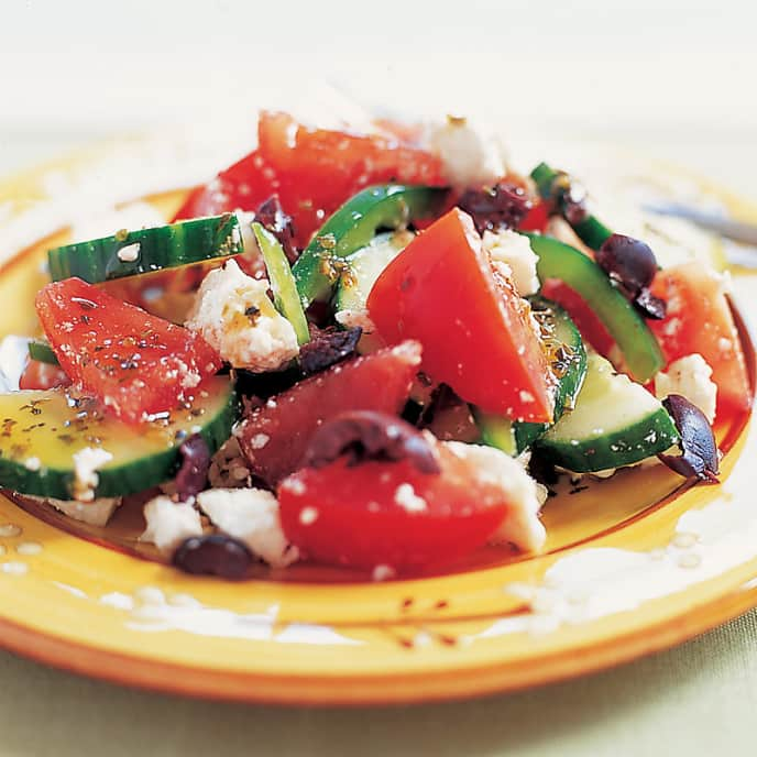 It's All Greek to Me Tomato Salad