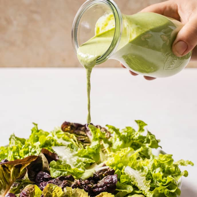 Creamless Creamy Green Goddess Dressing