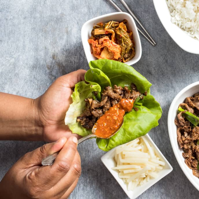 Korean Marinated Beef (Bulgogi)