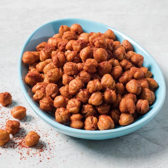 Spanish-Spiced Roasted Chickpeas