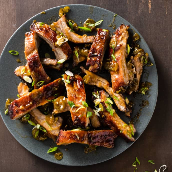 Sweet-and-Sour Baby Back Ribs
