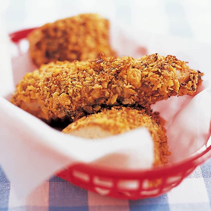 Fiery Oven-Fried Chicken