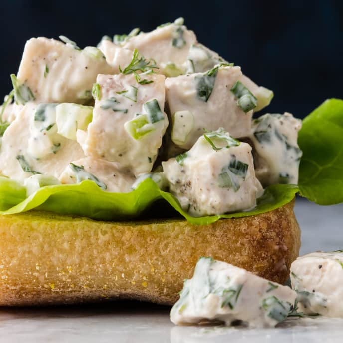 Chicken Salad with Fresh Herbs