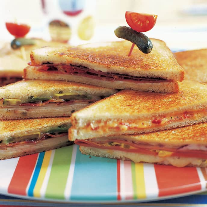 Little Italy Grilled Cheese Sandwiches