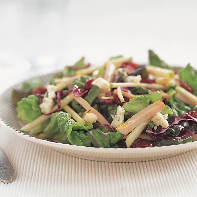 Harvest Supper Salad with Smoked Turkey and Apples