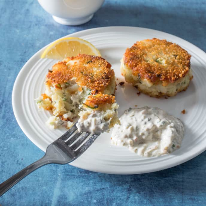 Cod and Potato Cakes