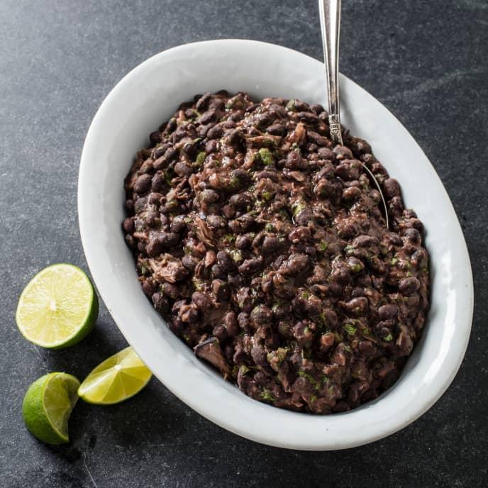 Sous Vide Cuban Black Beans