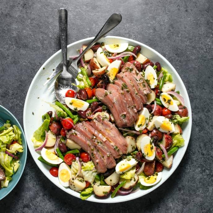 Sous Vide Tuna Salad Nicoise