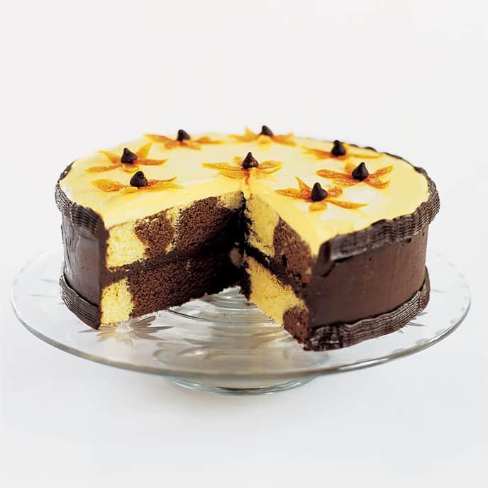 Brown-Eyed Susan Cake