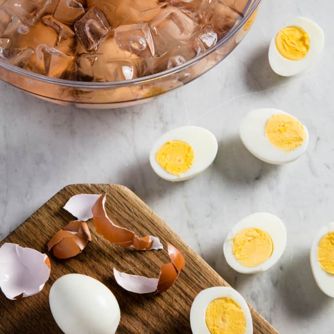 Sous Vide Hard-Cooked Eggs