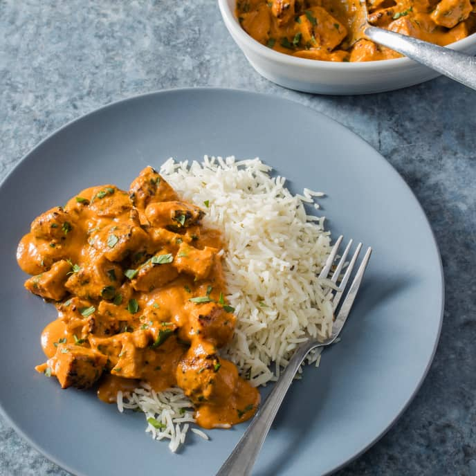 Indian Butter Chicken (Murgh Makhani) for Two
